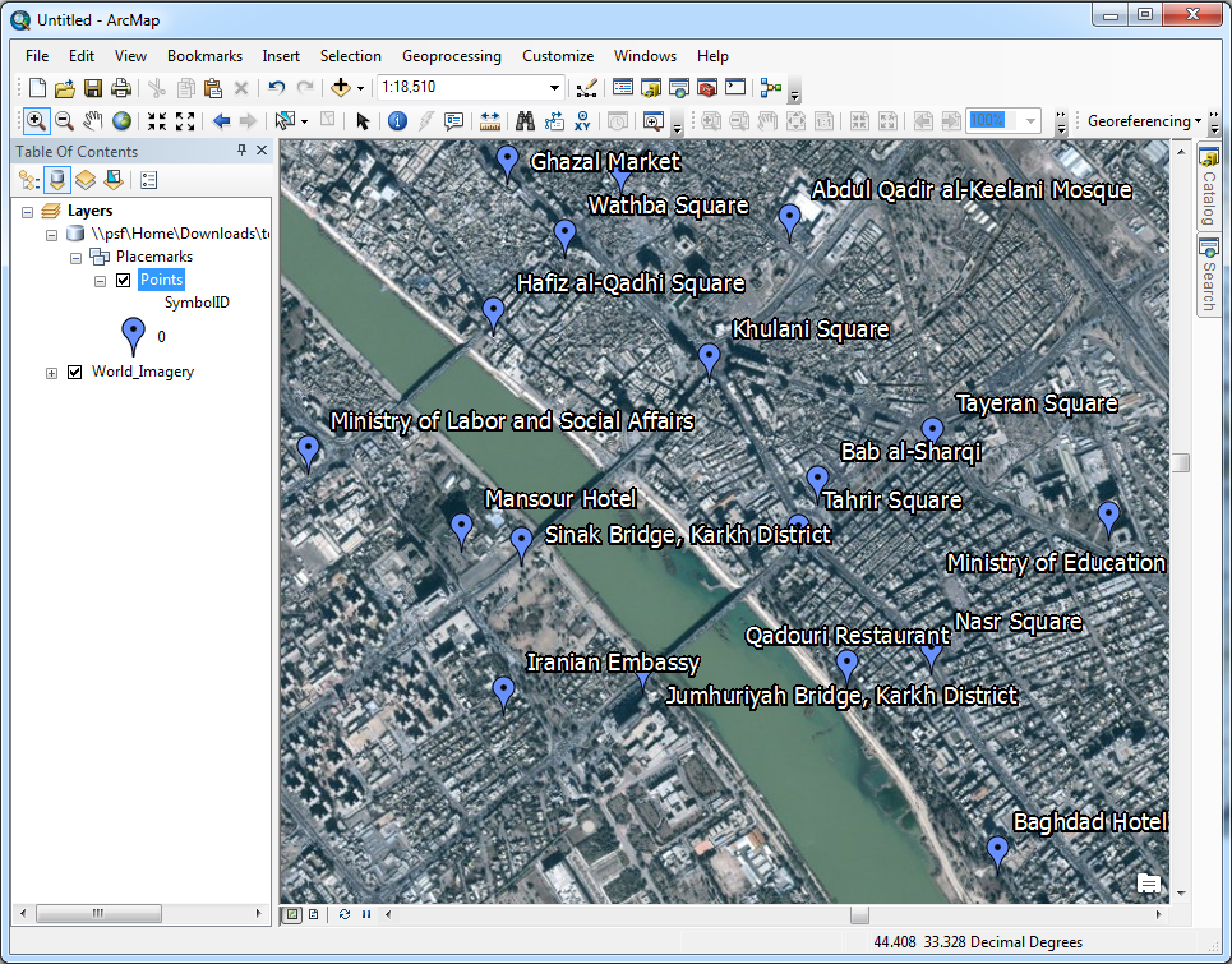local google map with How To Convert A Google Mymap Layer To An Arcmap Readable Format on 336567 likewise Map additionally Chilanga furthermore Kraaipan further Atlas.
