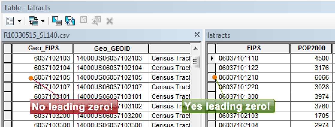 ArcMap's data import nightmare: text or number