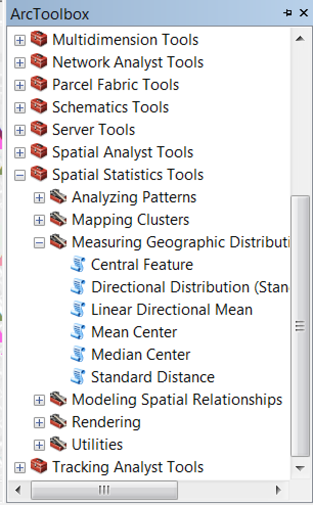 Introduction to simple spatial statistic tools